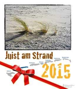 Fotokalender - Juist am Strand 2015 Weihnachten