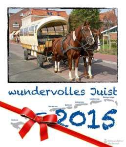 Fotokalender - wundervolles Juist 2015 Weihnachten