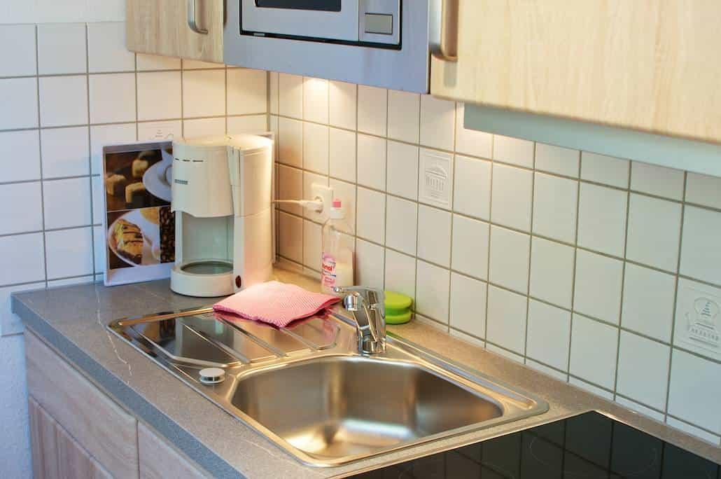 Insel Juist Urlaub – Küche FeWo Alte Liebe auf Juist