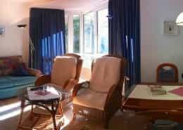 Urlaub auf Juist – Wohnzimmer + Essecke FeWo Alte Liebe auf Juist