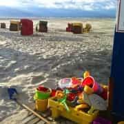 Am Strand auf Juist – Urlaub/Ferien auf der Insel