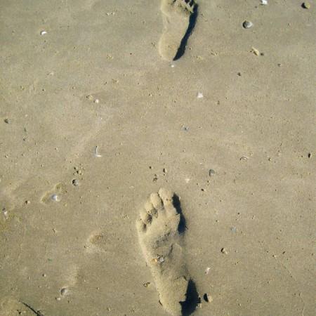 Spuren im Sand – Urlaub/Ferien auf der Insel