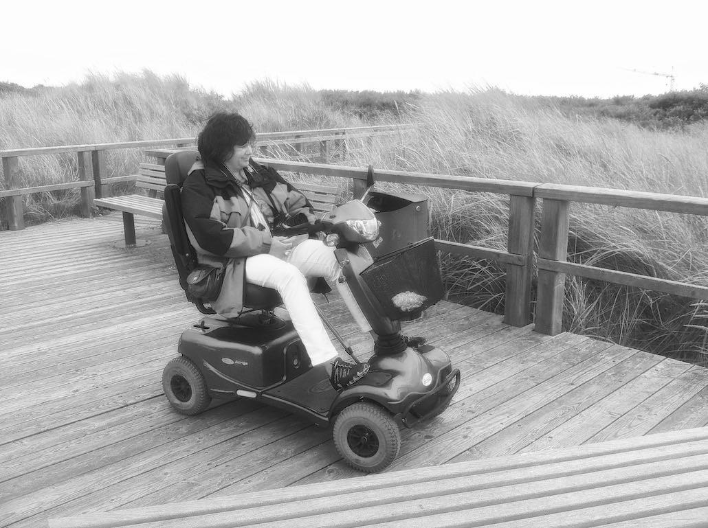 Juist urlaub mit dem eigenen scooter kein problem fewo for Urlaub mit hund auf juist